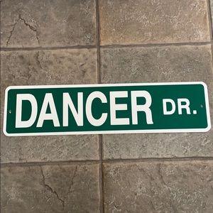 Dancer dr sign